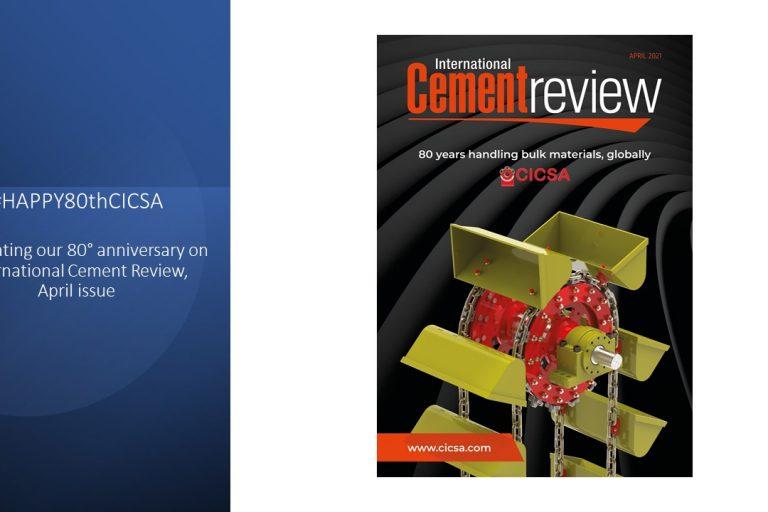 Copertina CICSA per International Cement Review