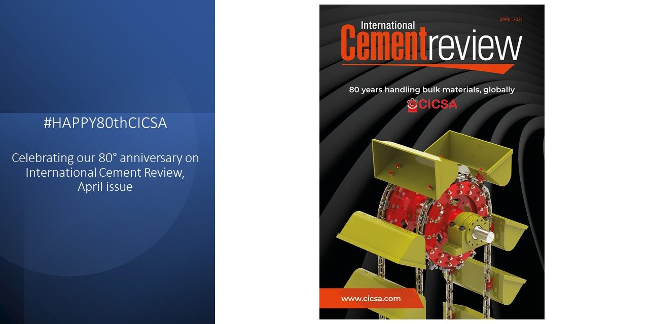 CICSA cover for International Cement Review